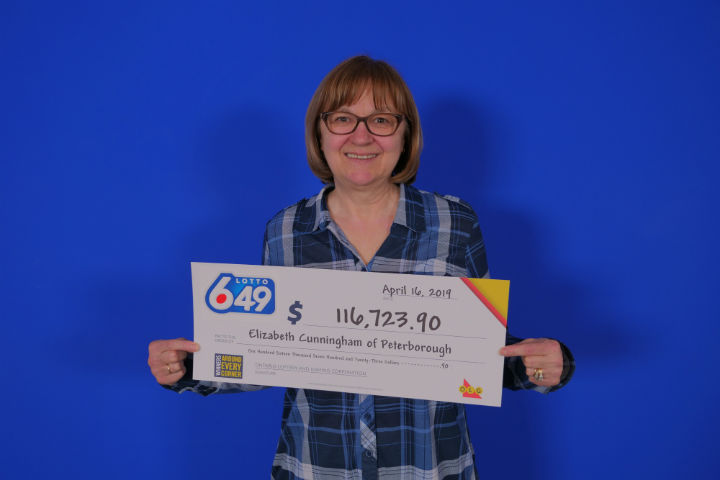 A Peterborough woman has won over $116,000 from OLG's Lotto 6/49.