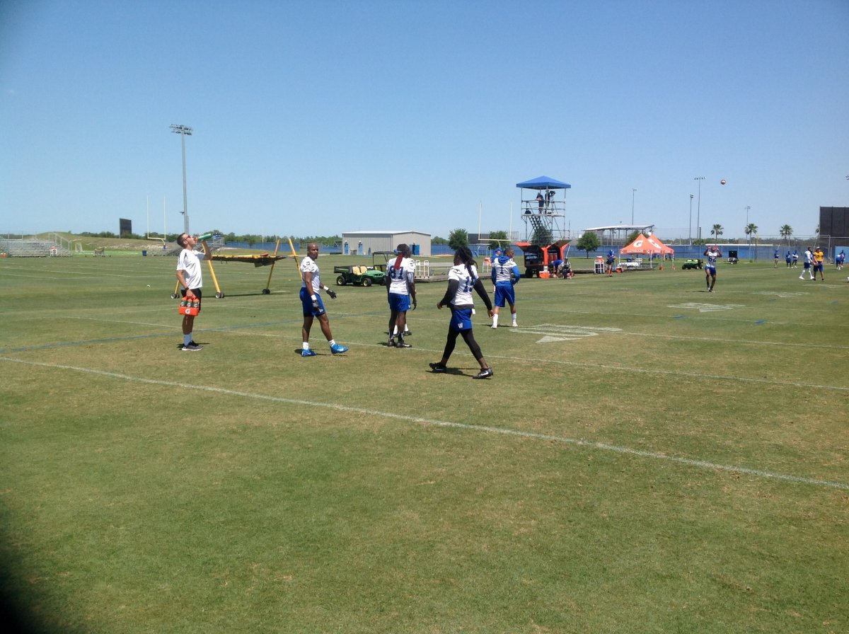 Day 1 of Bombers free agent camp is in the books - image