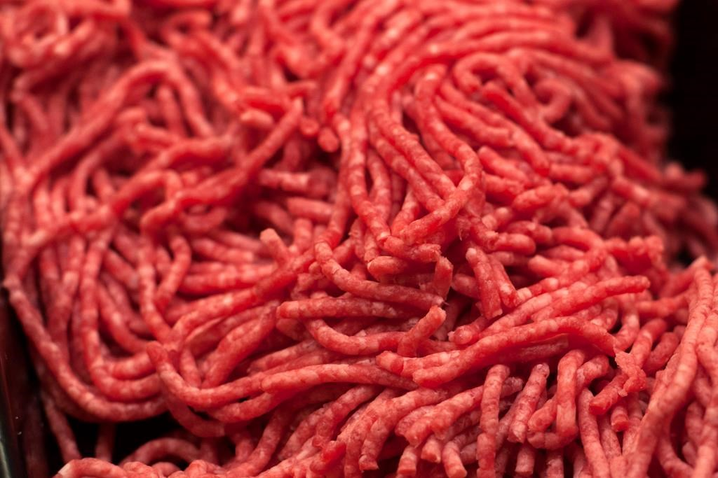 An Edson man is accused of breaking in and stealing hundreds of pounds of beef from local food bank.
