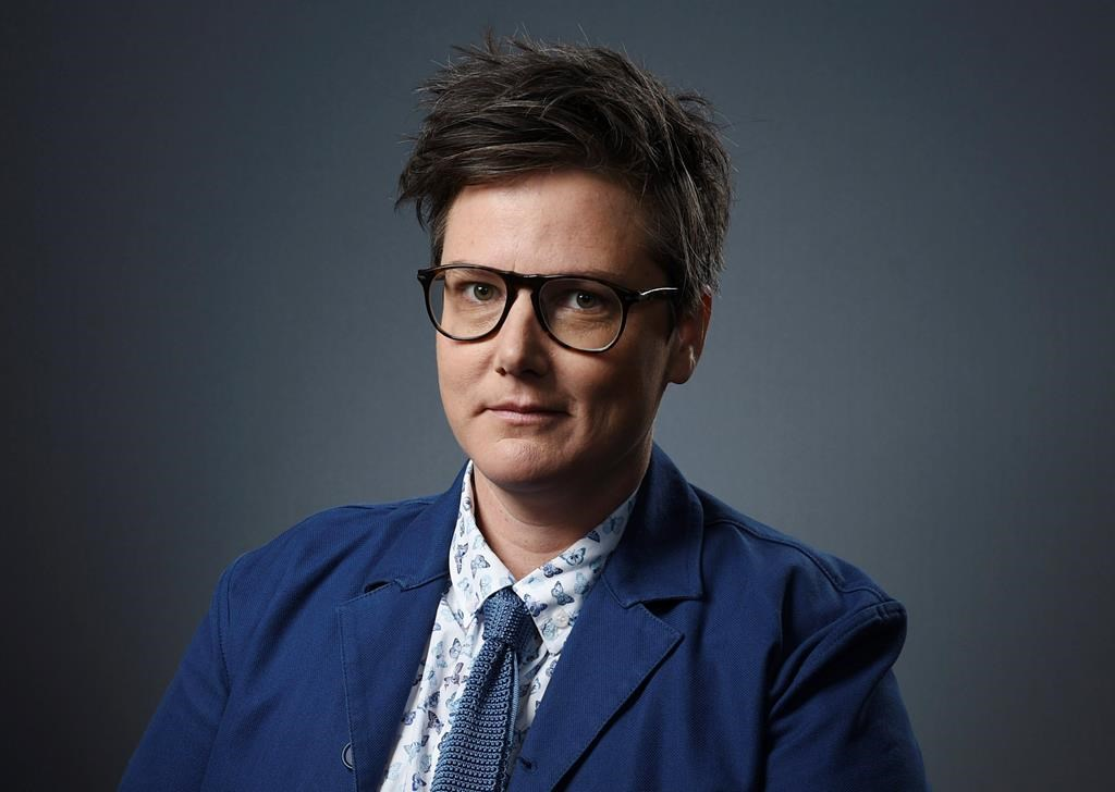 In this Dec. 10, 2018 file photo, Australian comedian Hannah Gadsby poses for a portrait in Los Angeles.