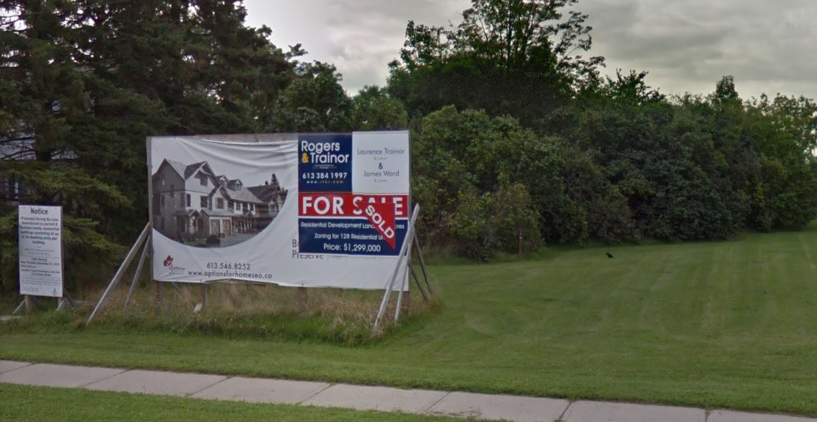 Kingston developer Jay Patry is seeking rezoning approvals for a proposed housing project at 809 Development Drive in the city's west end.