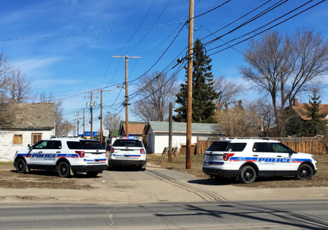 Regina police responded to gunfire on the 1600 block of Montreal Street on Saturday.