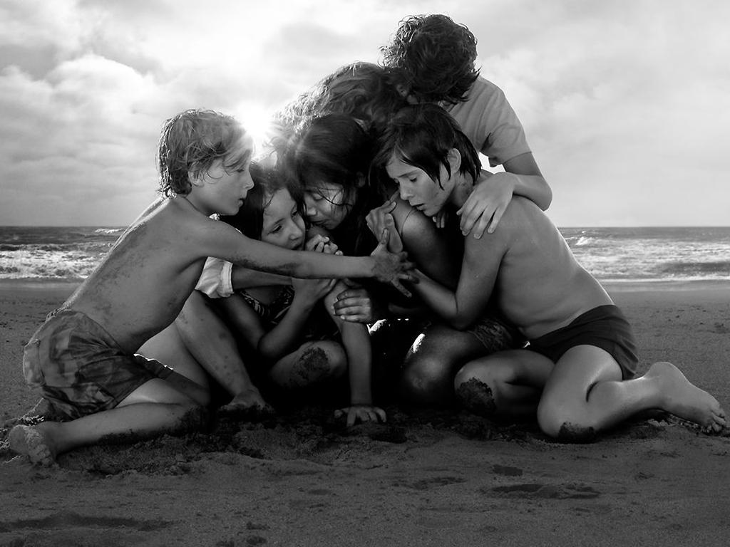 A still from the Oscar-winning Netflix movie, 'Roma.'.