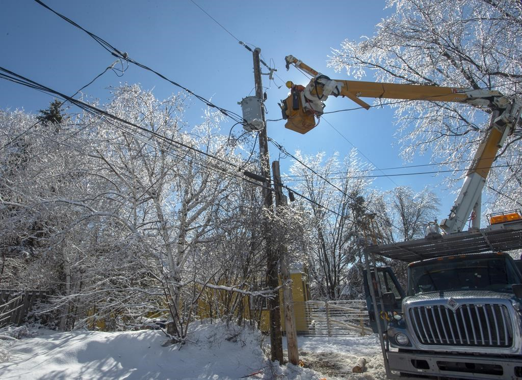 April Ice Storm Cost Hydro Quebec 14 Million Due To Damage Overtime Montreal Globalnews Ca