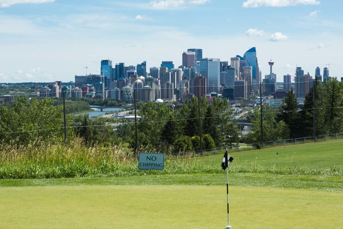 Shaganappi Point Golf Course in Calgary, Alta.