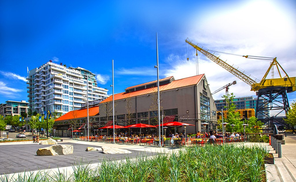 Businesses will begin to occupy the Shipyards development on Lower Lonsdale this summer.