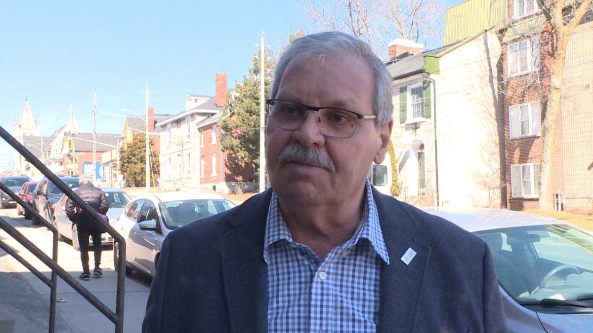 Warren Smokey Thomas came to Kingston to try to urge the supervisor of Addiction Mental Health Services to reconsider laying off up to 65 employees.
