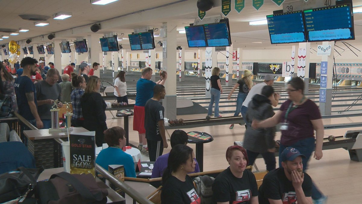 About 250 people took part in the 30th annual Bowl for Special Olympics.