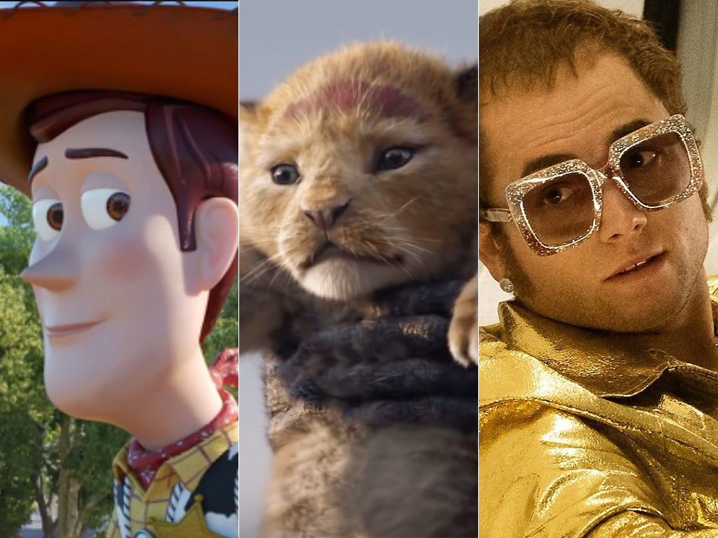 Some movies coming out this summer include 'Toy Story 4,' 'The Lion King' and 'Rocketman.'.