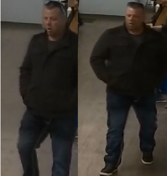 Halton police say an unidentified man was at a commercial business in Oakville with a known accomplice before he allegedly began uttering threats toward the victim.