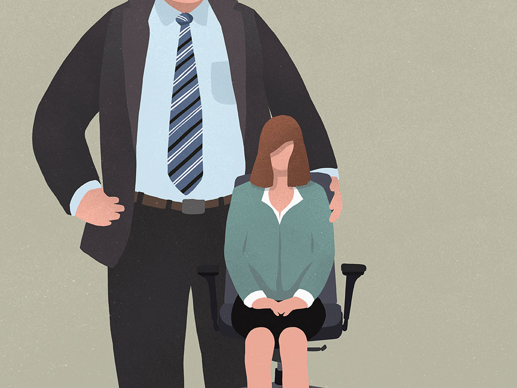 Workplace experts say there's steps you should take if you experience unwanted touching at work.