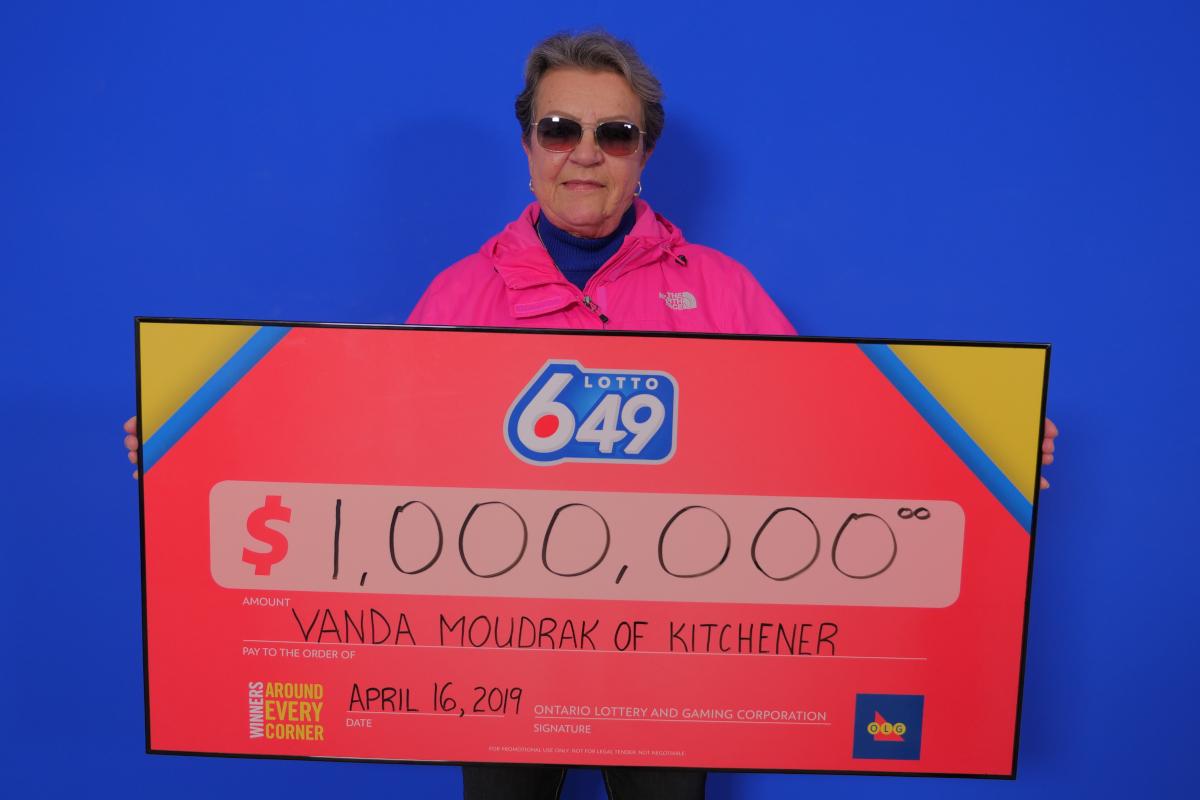 Vanda Moudrak of Kitchener.