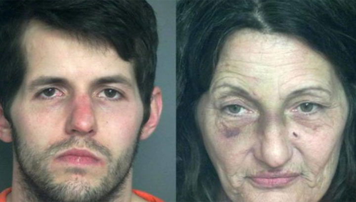 Benny Vann and Lisa Smith were arrested by Eau Claire Police at a Walmart last week.