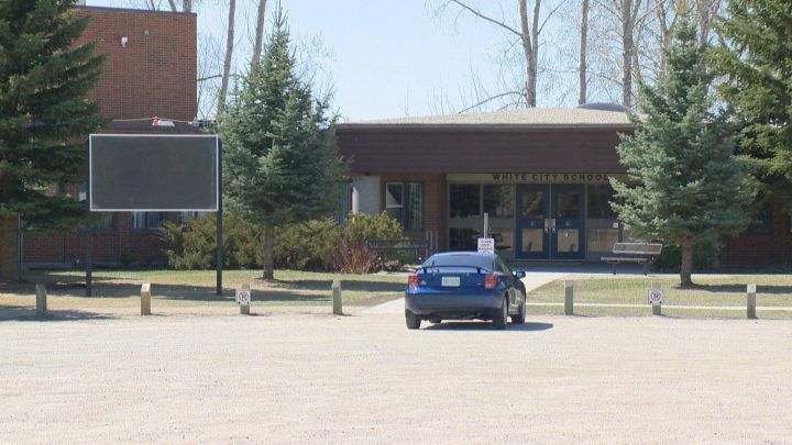 White City School was vandalized and broken into in two separate incidents over the Easter weekend.