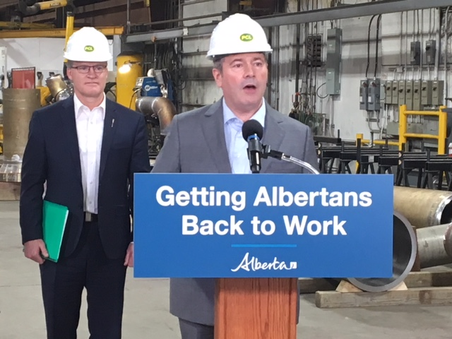 Alberta Premier Jason Kenney announced Red Tape Reduction Act on May 29, 2019.
