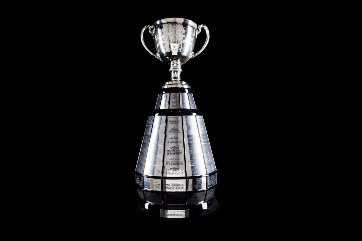 """The """"new look"""" Grey Cup for 2019."""