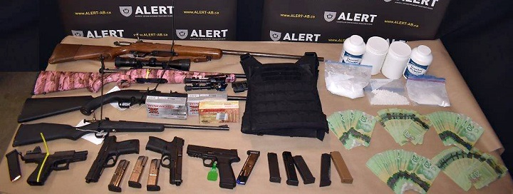 Three people are facing charges after a firearms trafficking bust that police allege was part of what's known as straw purchasing.