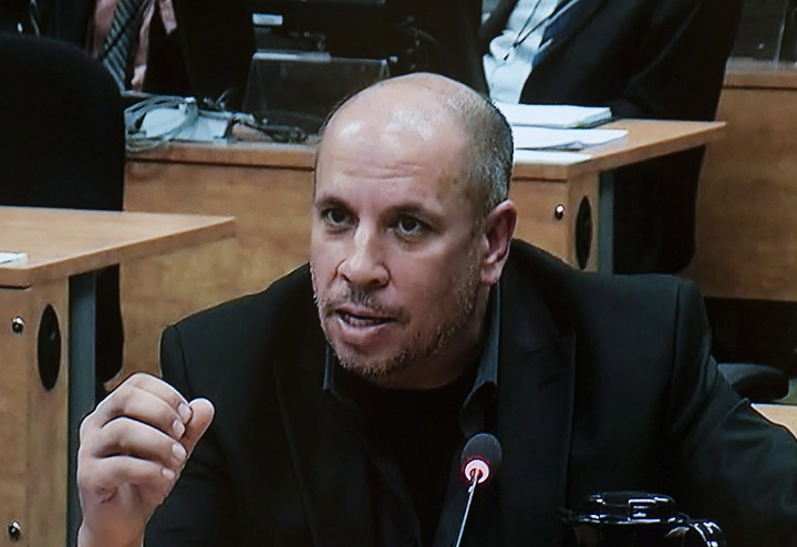 In this file photo, Ken Pereira testifies at the Charbonneau Commission in Montreal, Monday, October 28, 2013.