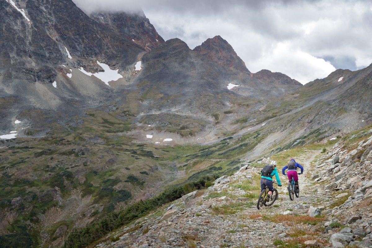 Biking the Cronin Pass, Smithers, B.C.