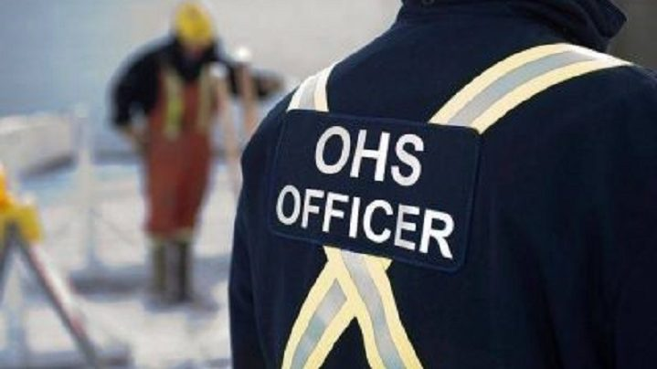 A file photo of an OHS officer.
