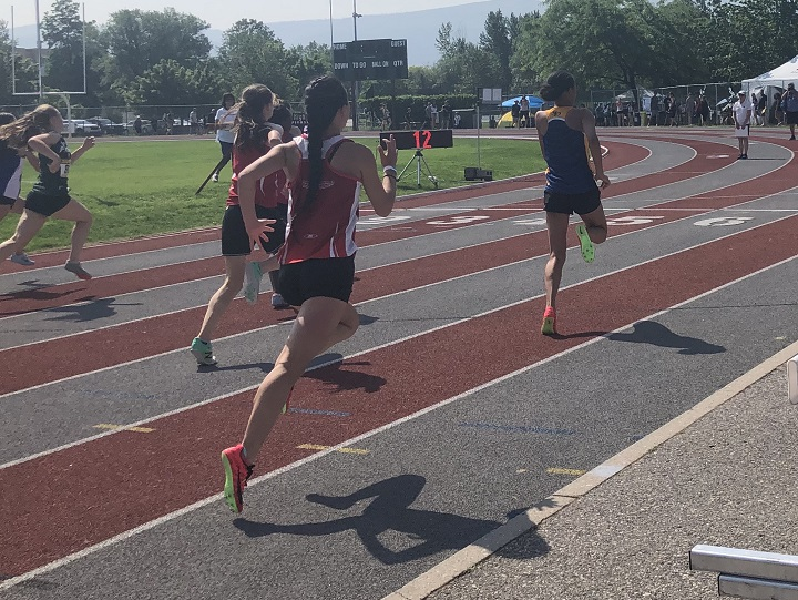 Kelowna is playing host to the B.C. high school track and field championships this week. The events are taking place at the Apple Bowl.
