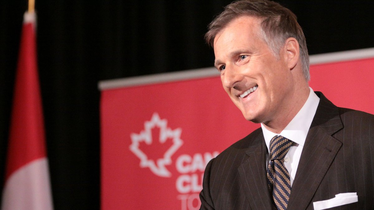 Maxime Bernier, the leader of the People's Party of Canada, begins a tour of the Thompson-Okanagan.