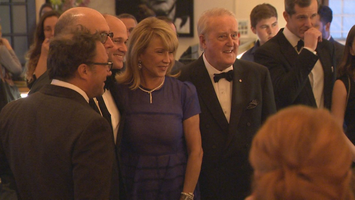 Brian Mulroney (right) and wife Mila, attend CHUM fundraiser at the Ritz-Carlton in Montreal. Thursday, May 9, 2019.