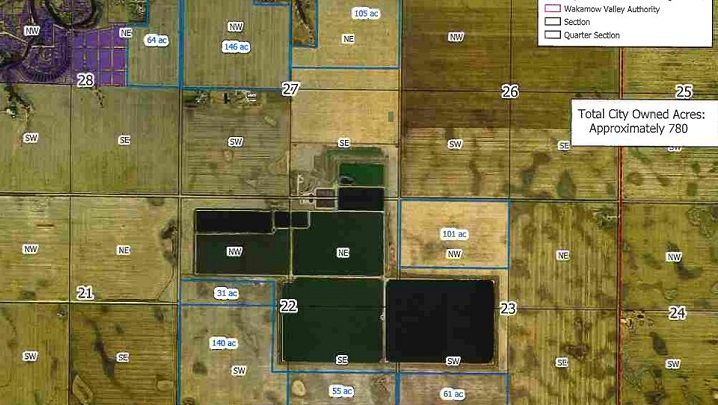 Moose Jaw city council approved a $7.8 million offer to purchase 780 acres of land in city's South East Industrial Park on Monday.