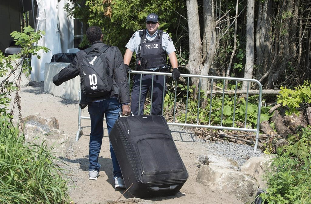 The federal government says Quebec has assumed extraordinary costs due to an influx of asylum seekers.