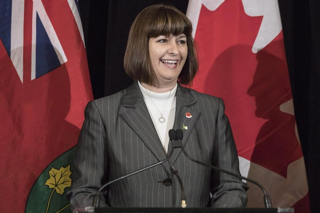 Marie-France Lalonde was nominated on Thursday night as the Liberal Party candidate for Orléans for the 2019 Federal Election.