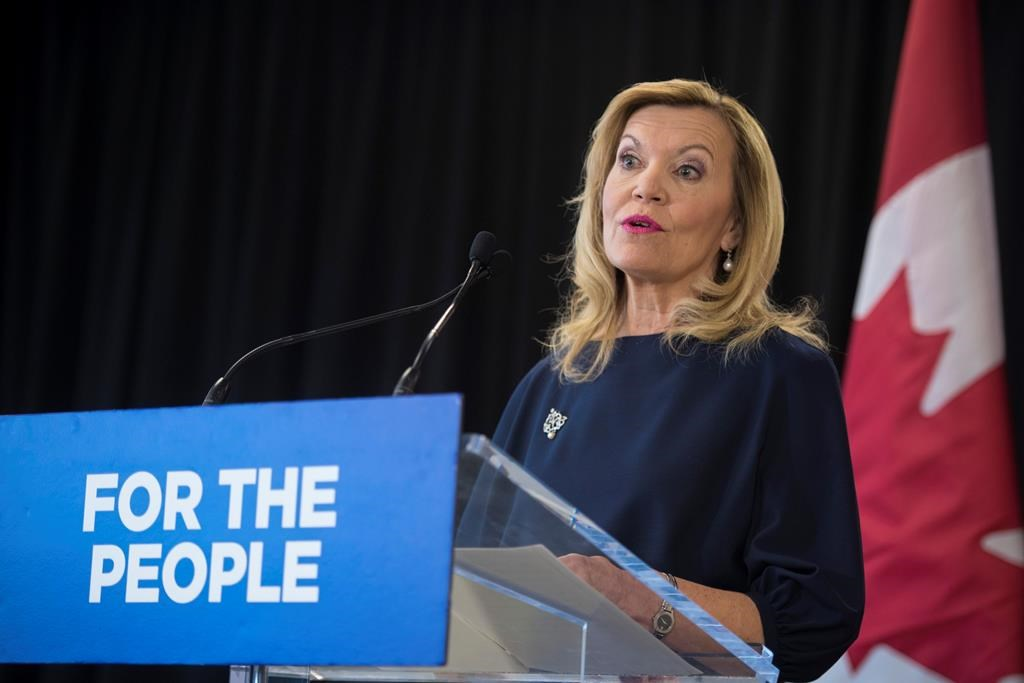 Christine Elliott, Deputy Premier and Minister of Health in Toronto on February 26, 2019.
