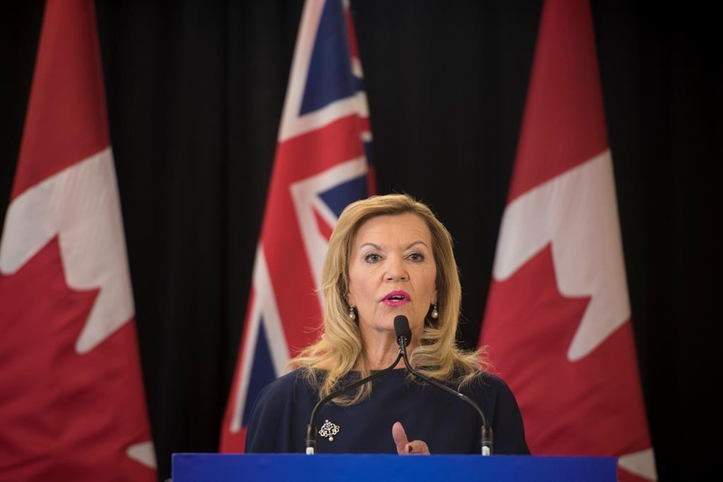 Health Minister Christine Elliott made the announcement on Thursday.