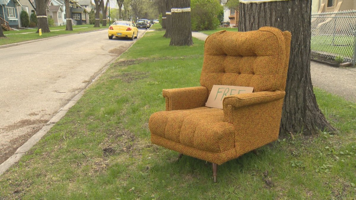 If you find that you have plenty of items in good nick that you don't plan on using again, you can find a new home for them when Winnipeg's giveaway weekend returns.