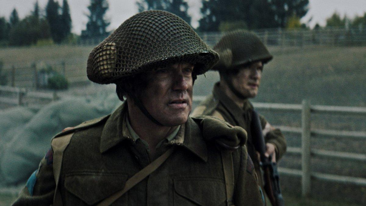 Actor Michael Shanks as Major Archie MacNaughton.