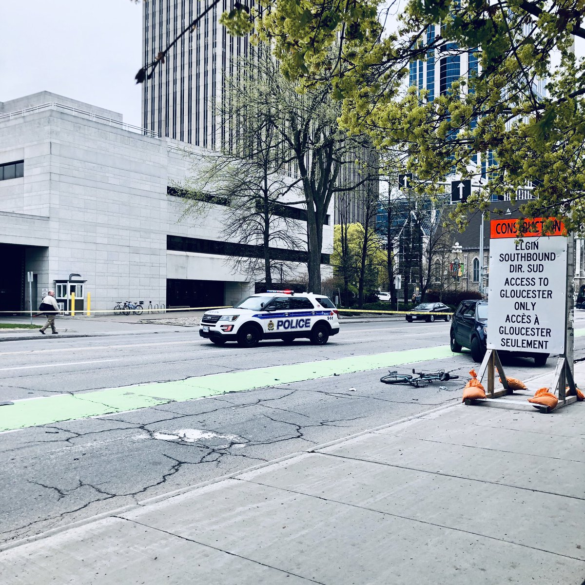 Ottawa police are investigating an alleged hit-and-run that sent a cyclist to hospital with serious injuries on Thursday morning.