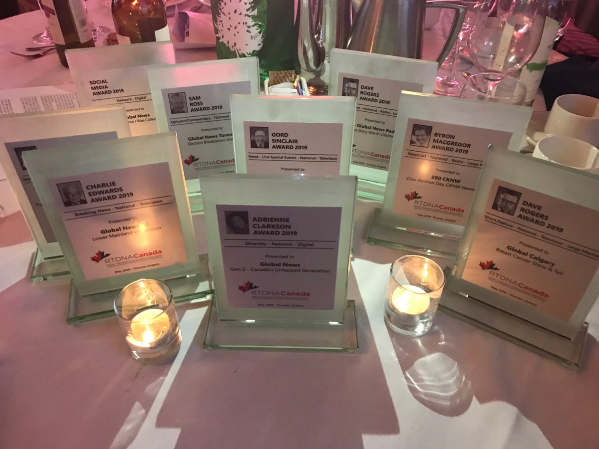 Global News received 45 RTDNA Canada nominations and won 12 awards.