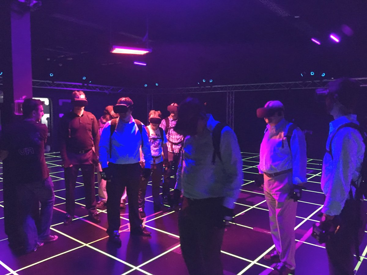 Officials with Dreamland VR unveiled changes to its facility during a preview event on Wednesday.