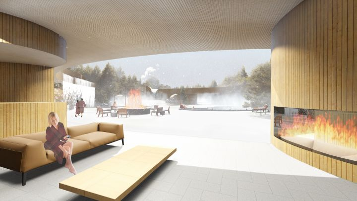 A group of entrepreneurs have banded together to come up with a plan for the Edmonton Nordic Spa.