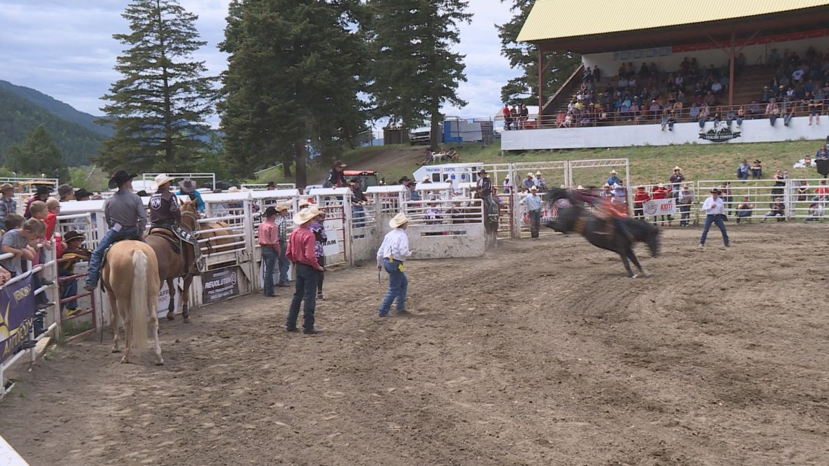 In 2019 thousands attended the 101st Falkland Stampede over the Victoria Day long weekend. The 2020 event has been postponed amid the coronavirus pandemic.