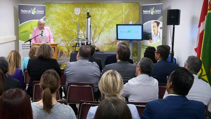 Over $11.5 million was announced by the Saskatchewan government for the Sylvia Fedoruk Canadian Centre for Nuclear Innovation.