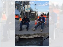 Continue reading: Ness Avenue 'sinkhole' catching attention in west Winnipeg