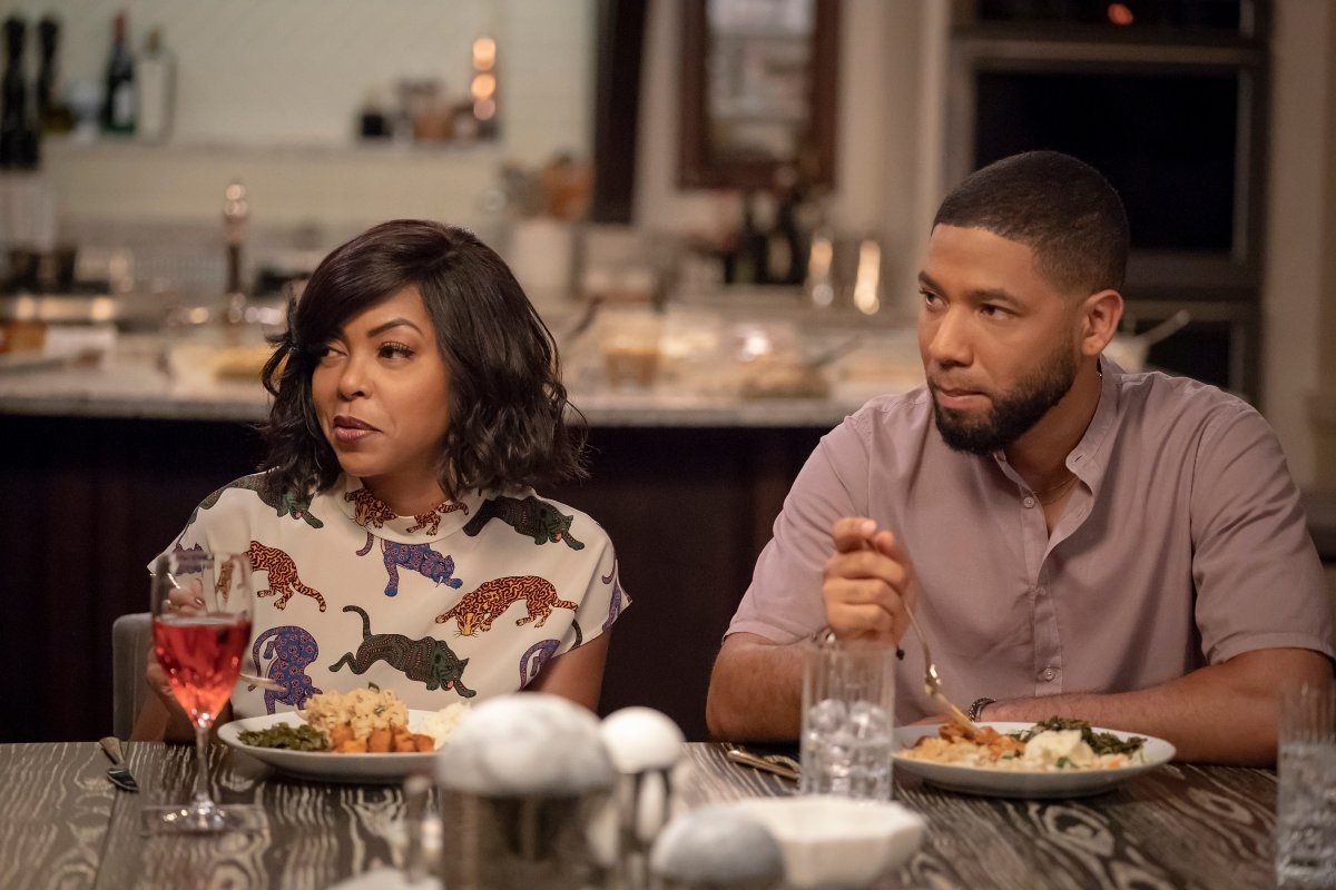 """L-R: Taraji P. Henson and Jussie Smollett in the """"Treasons, Stratagems, and Spoils"""" episode of 'EMPIRE.'."""