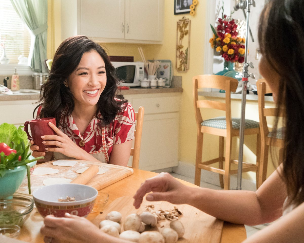 "FRESH OFF THE BOAT - ""Grand-Mahjong"" - Constance Wu as Jessica."