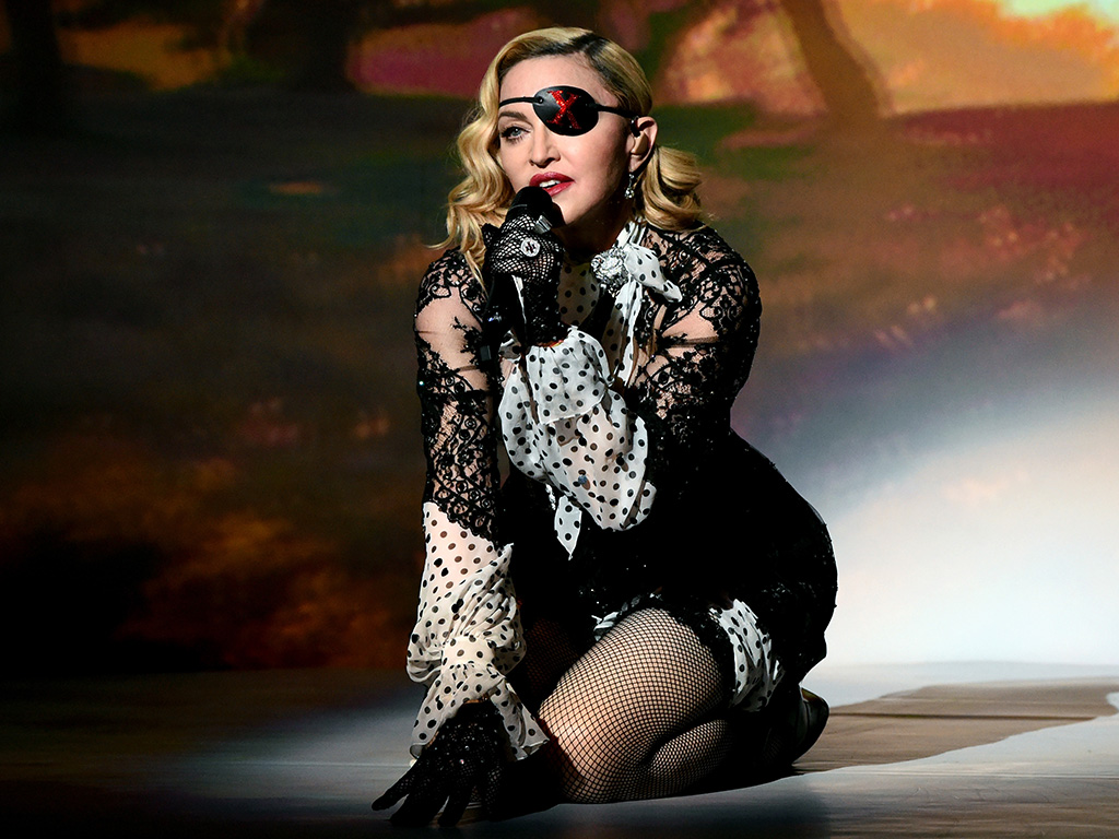Madonna performs onstage during the 2019 Billboard Music Awards at MGM Grand Garden Arena on May 1, 2019 in Las Vegas, Nev.