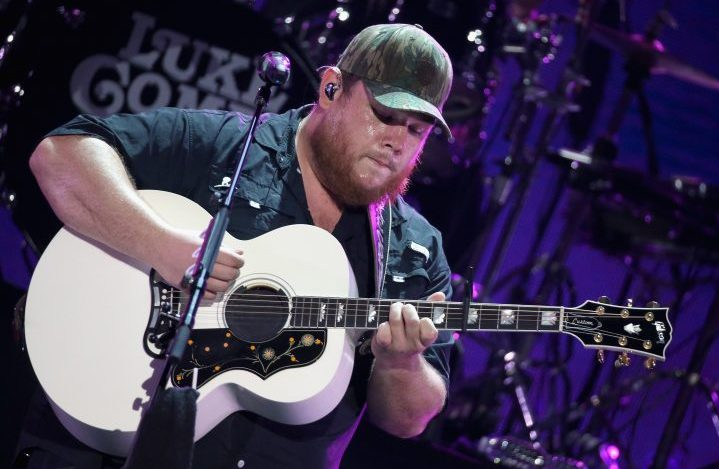 Luke Combs performs on stage during the 2019 iHeartCountry Festival Presented by Capital One at the Frank Erwin Center on May 4, 2019 in Austin, Texas.