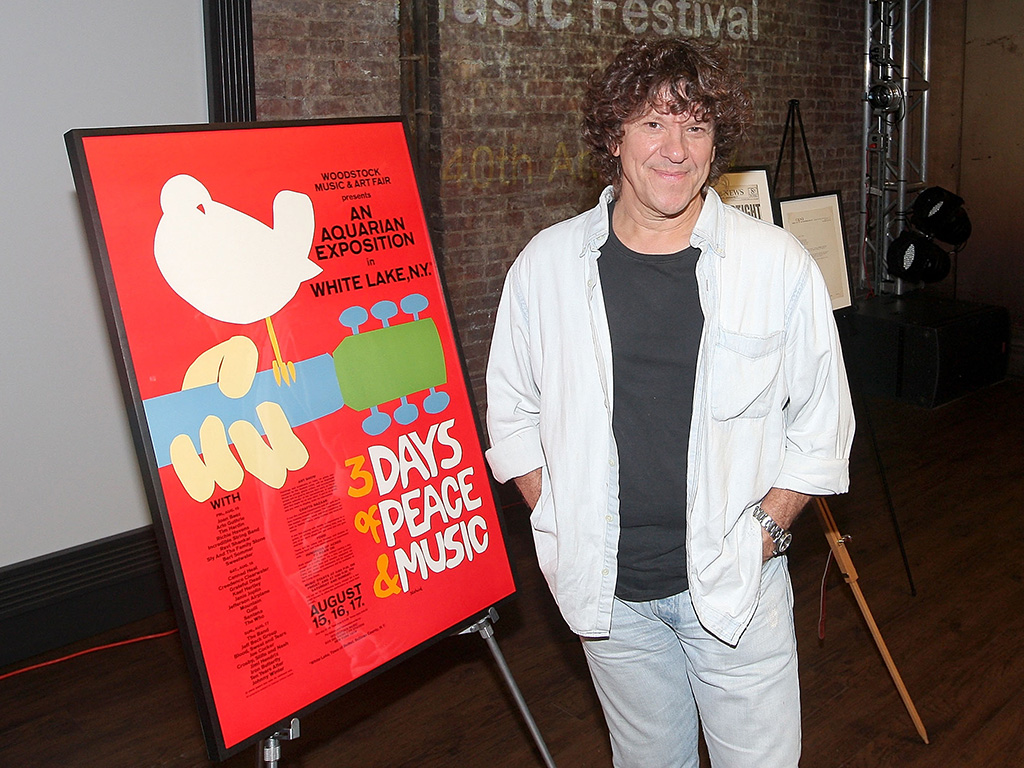 Woodstock Music Festival co-producer Micael Lang attends a celebration of the 40th Anniversary of Woodstock at the at Rock & Roll Hall of Fame Annex NYC on Aug. 13, 2009 in New York City.