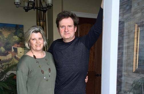 Lara Ryan and her husband Brett are shown at their home in Ferguson's Cove, N.S. on Saturday, May 25, 2019 in a handout photo provided by Ryan.