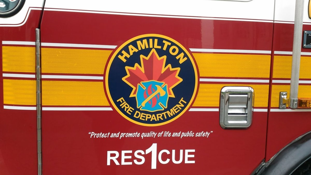 Hamilton Fire were called out to a house fire on Cannon Street on Thursday night.