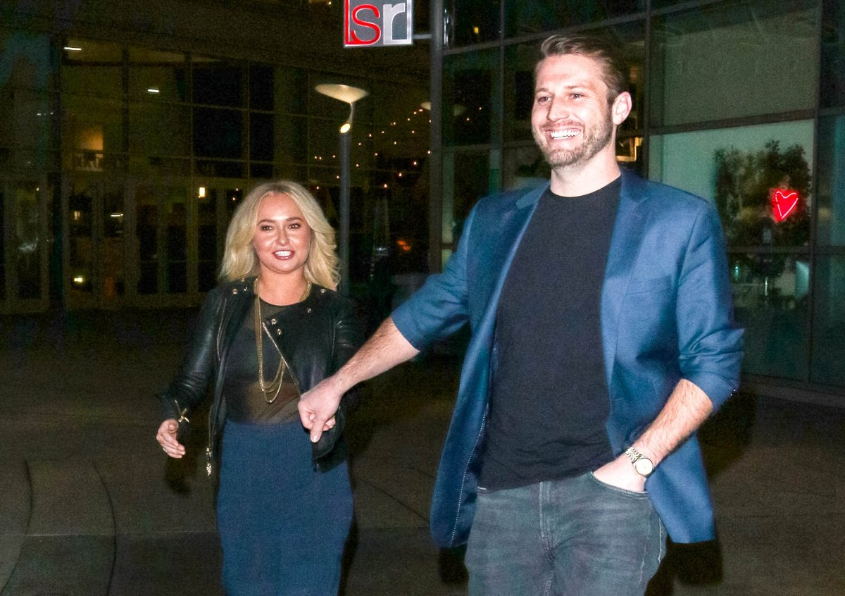 Hayden Panettiere and Brian Hickerson are seen on January 31, 2019 in Los Angeles, CA.