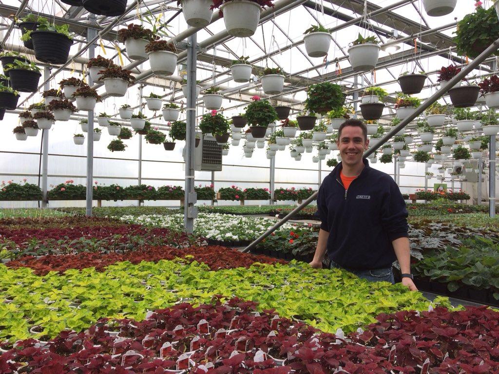 Will Heeman of Heeman's Garden Centre and Strawberry Farm on May 13, 2019.